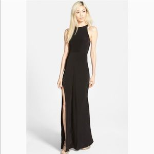 """Misguided """"Nora""""high neck maxi dress Size XL"""